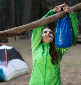 Hanging Up Lifestraw Mission