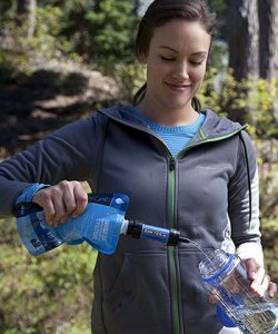 Sawyer Mini Water Pouch on Filter